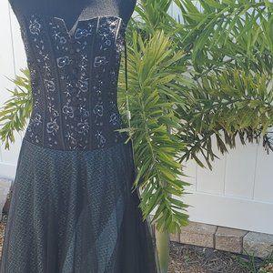 Lara Designs Style 2940 Black Sleeveless Gown